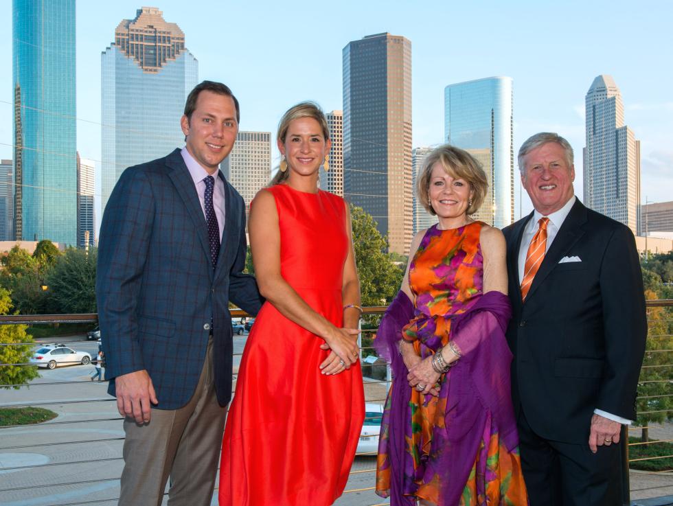Houston, Buffalo Bayou Partnership Gala, November 2017, Bas Solleveld, Courtney Solleveld, Vivien Caven, Scott Caven
