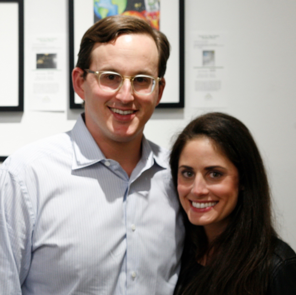 Scott and Jenifer Jacobson at Art on the Avenue 2017