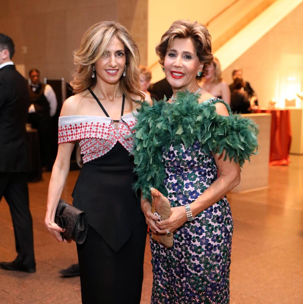 Houston, MFAH Art of the Islamic Worlds Gala, November 2017, Sima Ladjevardian, Shahla Ansary