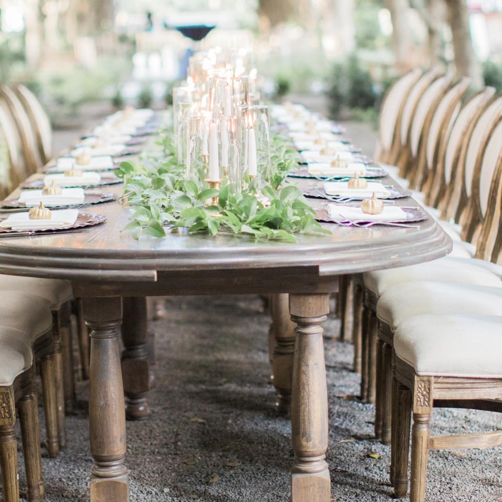 Kranz Wedding, table