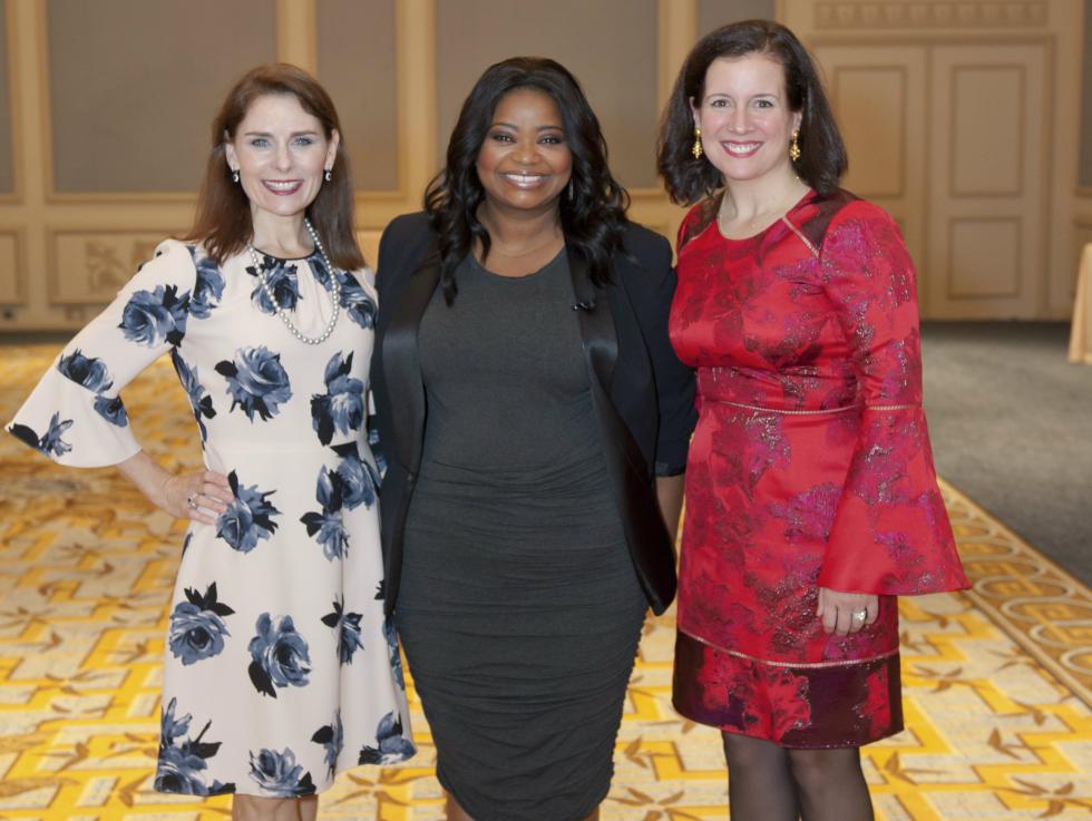 Nikki Webb, Octavia Spencer, Jennifer Scripps