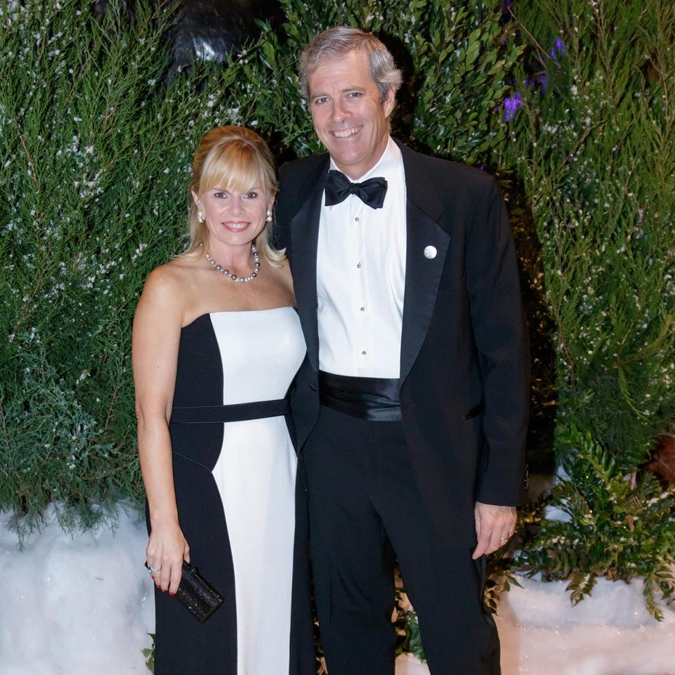 Stacy Walker, Reid Walker, crystal Charity 2017