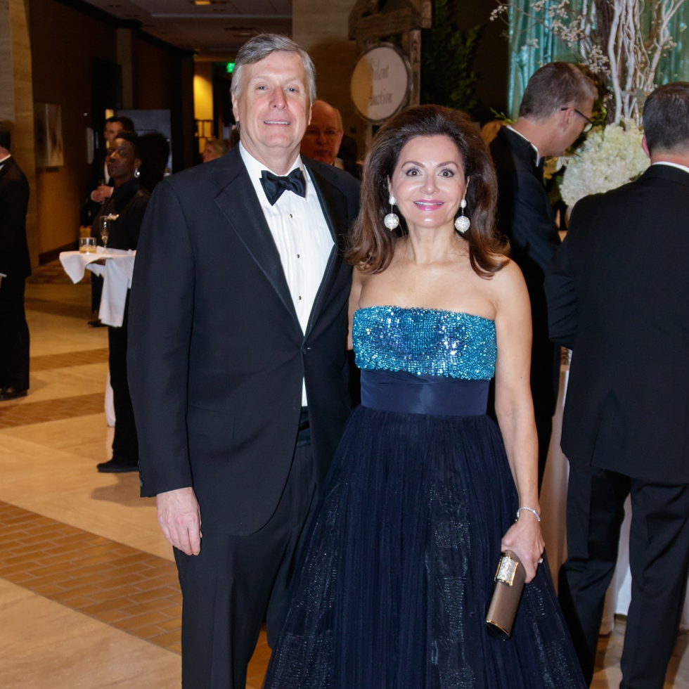 Mark Knowles, Melinda Knowles, Crystal Charity Ball 2017