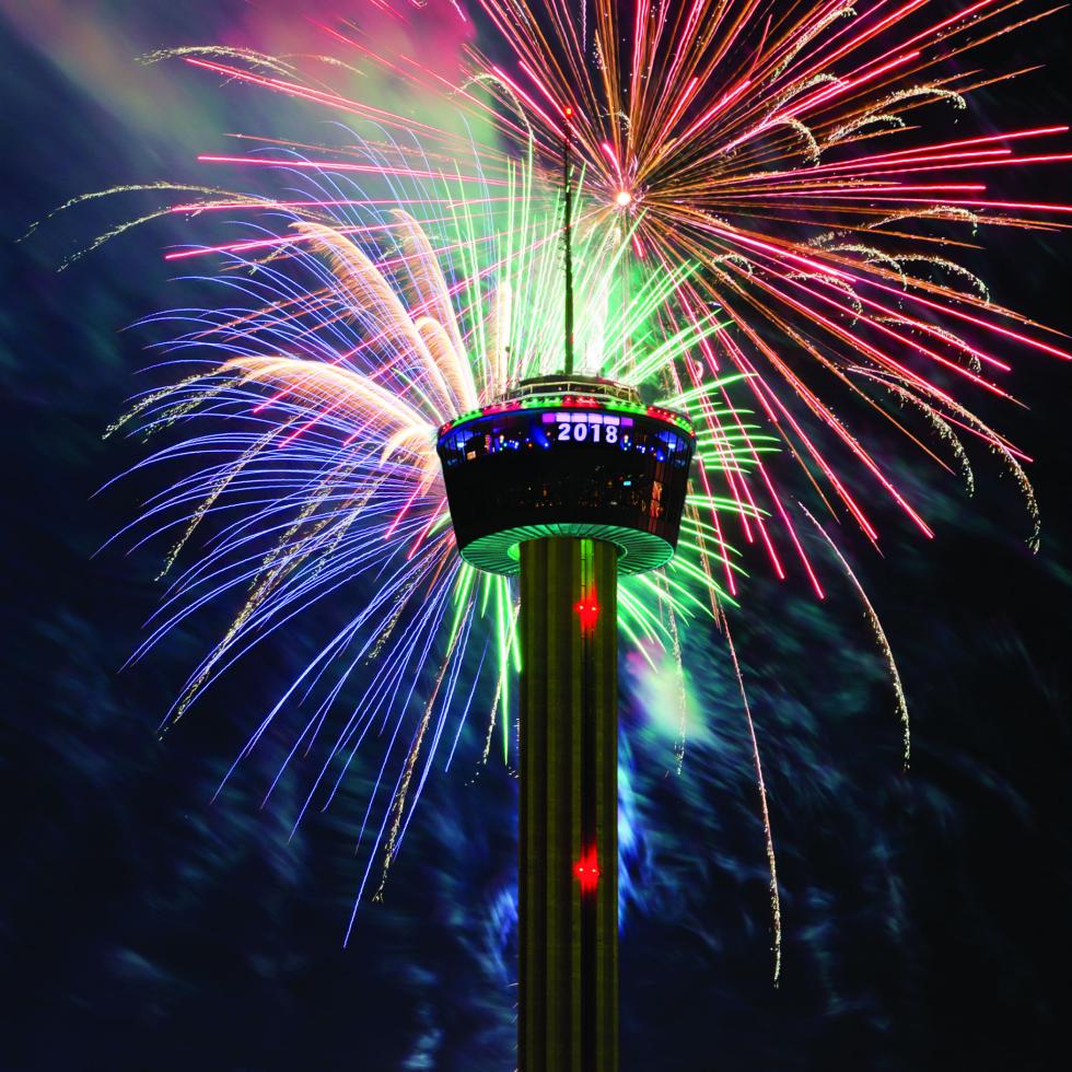 New Year's Eve Celebration fireworks