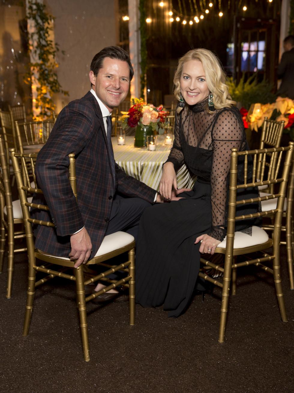 Houston, TCH Ambassadors holiday party, December 2017, Brig Smart, Marcia Smart