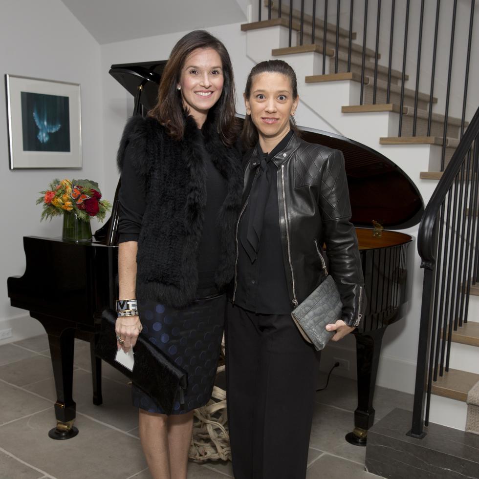 Houston, TCH Ambassadors holiday party, December 2017, Alicia Kimmel, Sarah Snyder
