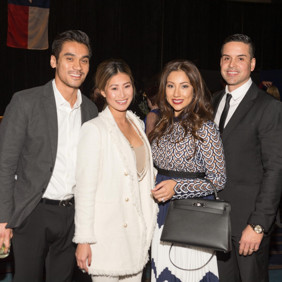 Houston, social book party, January 2018, Dzi Vo, Andrea Tan, Jose Almodovar, Nancy Almodovar