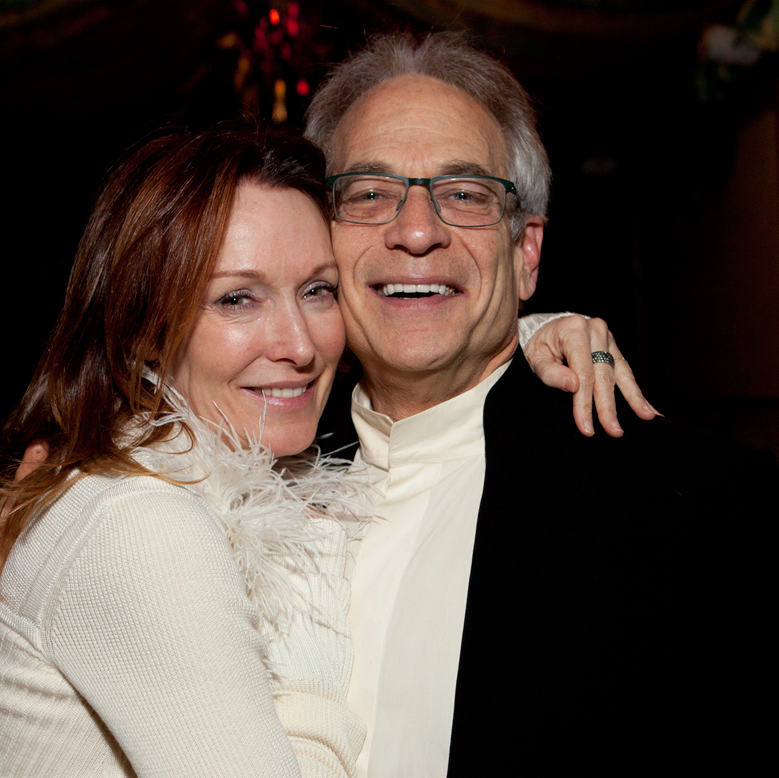 26 Holly Waltrip and Mickey Rosmarin at the Night Circus party January 2014