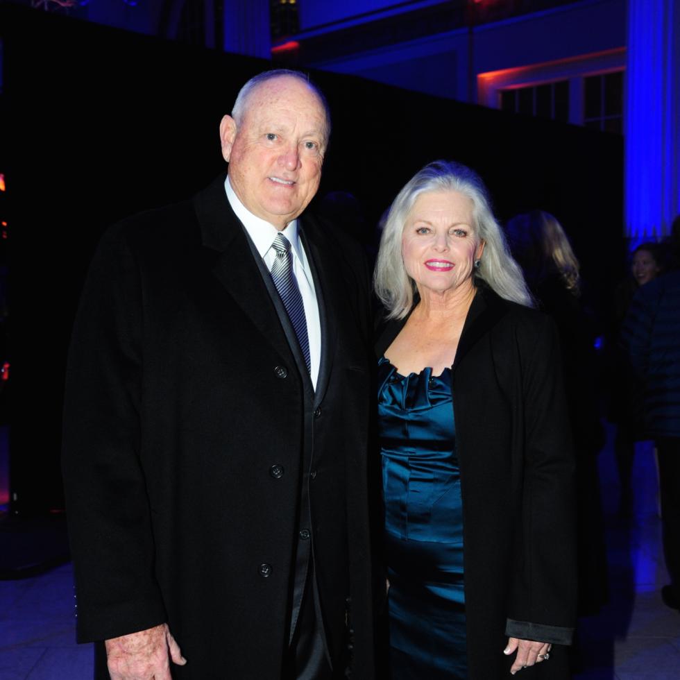 Houston, Diamond Dreams Astros Gala, January 2018, Nolan Ryan, Ruth Ryan