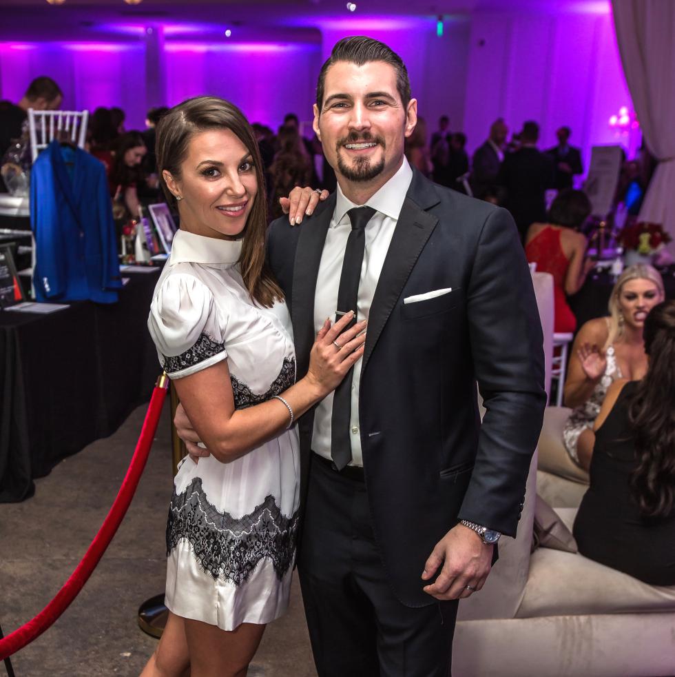 Dallas, CASAblanca gala, January 2018, Emma Hiduke, Mark Hiduke
