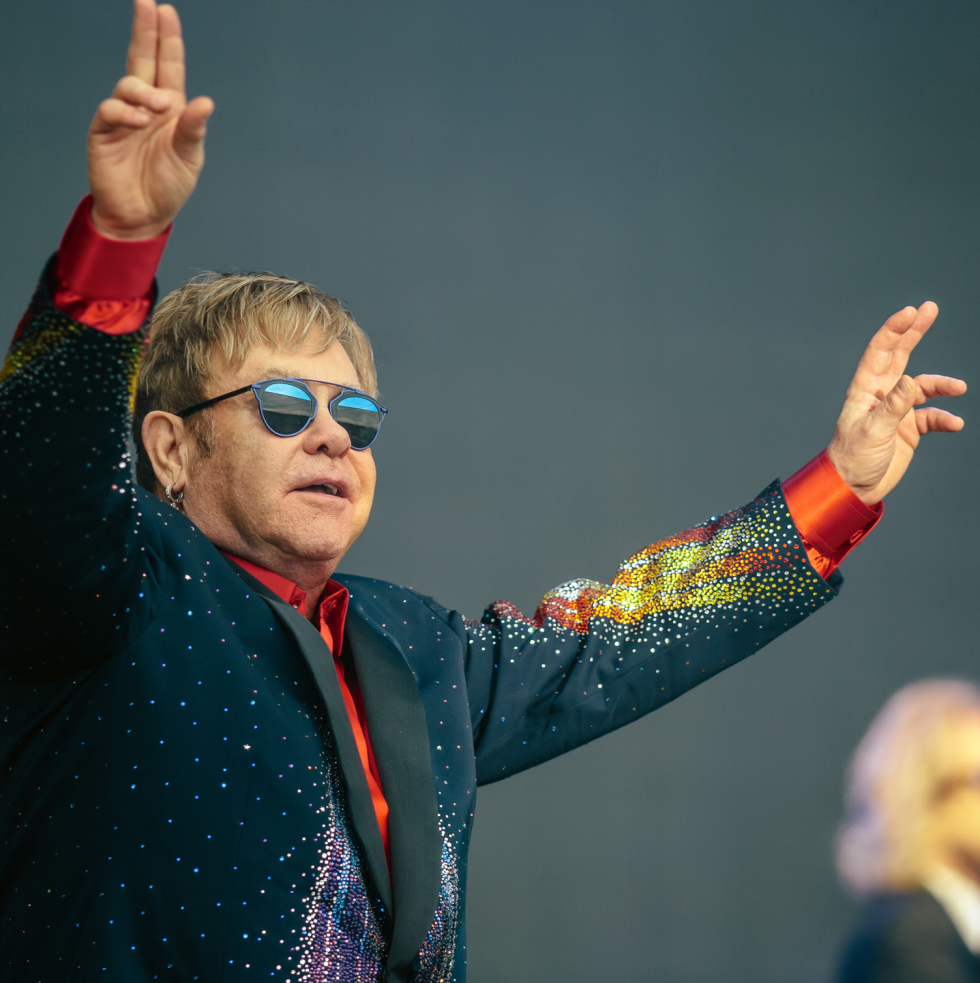 Elton John at Circuit of the Americas F1 Weekend