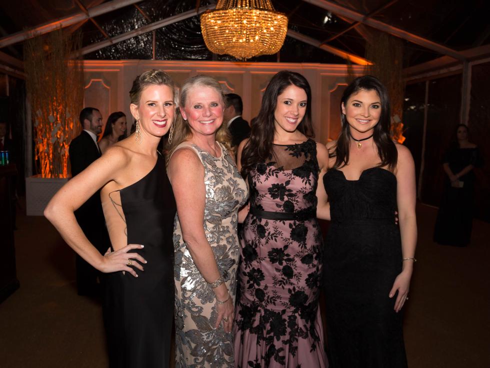 Houston, JLH Charity Ball, February 2018, Jamie Hons, Joni Fichter, Hannah Gelbs, Peyton Wallace