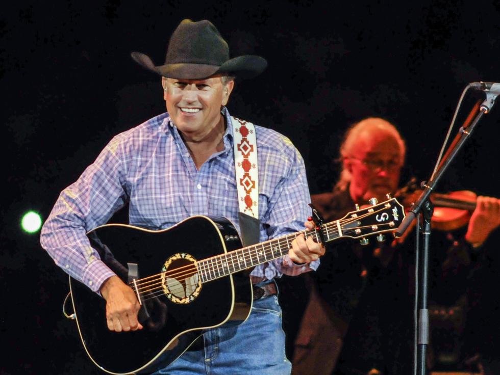 George Strait guitar