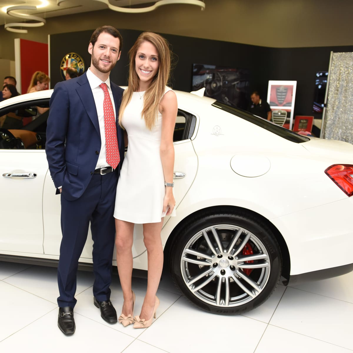 River Oaks Dodge >> Masserati fever at dealership opening; turnout is as sexy as the cars - CultureMap Houston