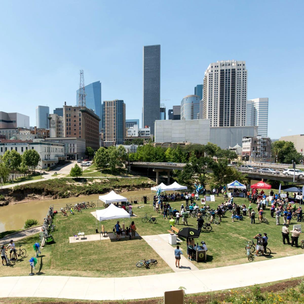 Houston Oaks: Highly Anticipated Buffalo Bayou Park-White Oak Bayou