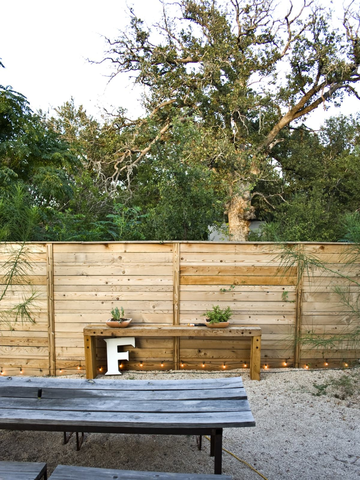 Austin Backyard Moontower Design Build Image 1