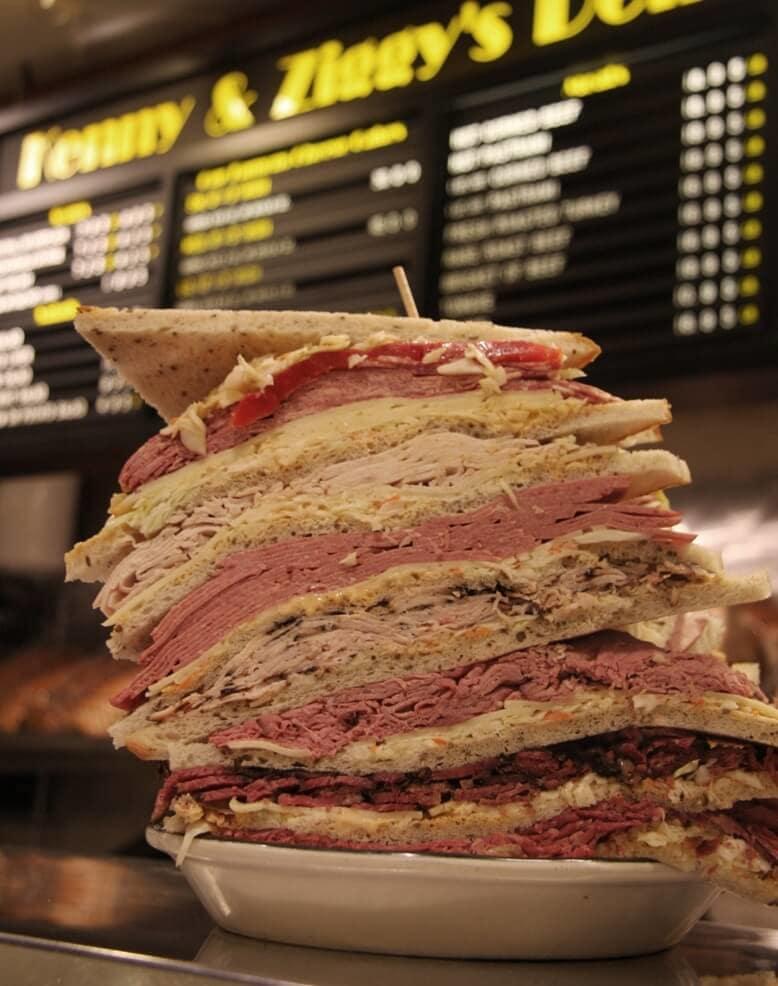 Kenny Amp Ziggy S New York Delicatessen Restaurant