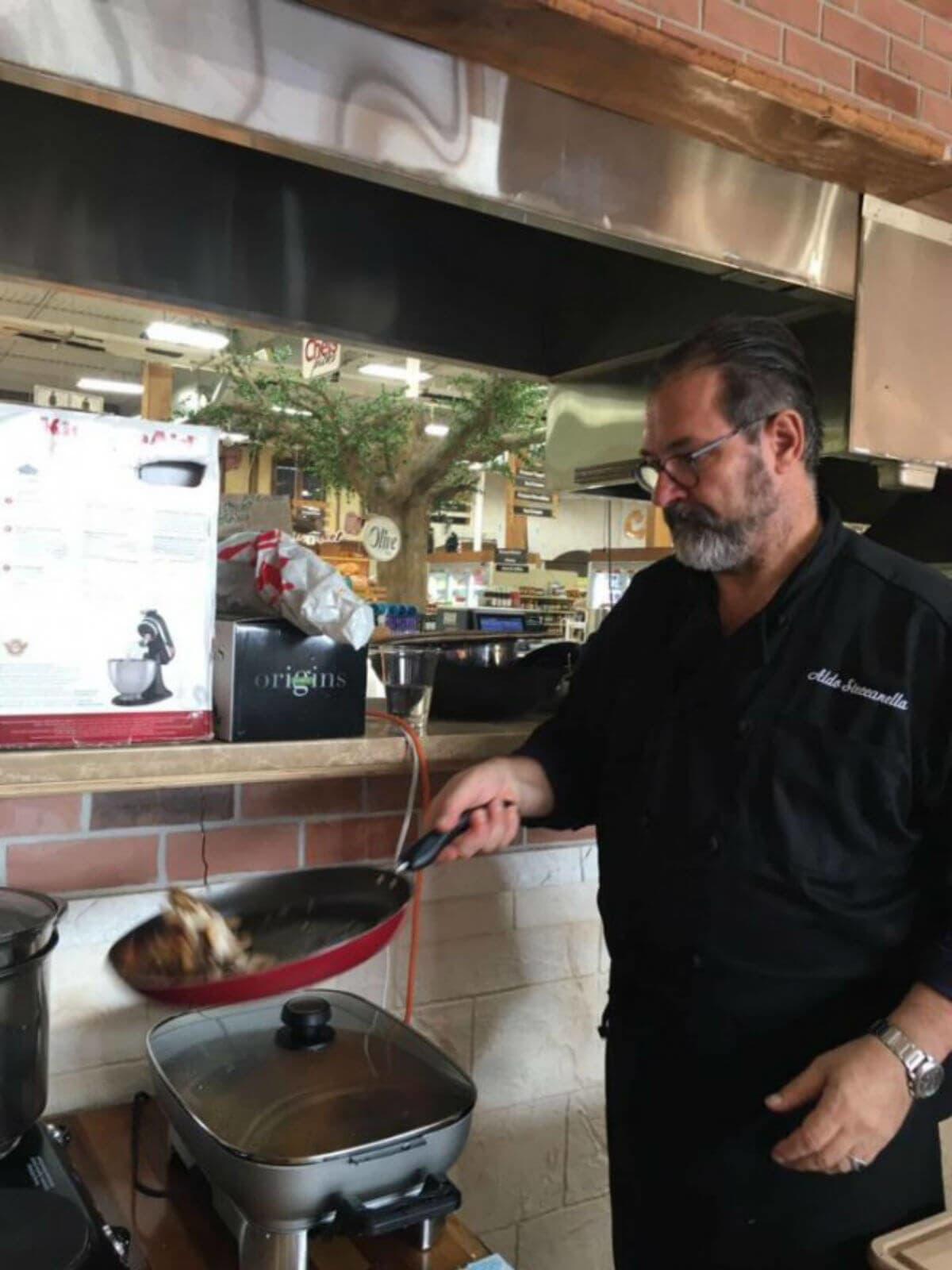 Chef Aldo Steccanella And Acavatore S Fine Italian Present
