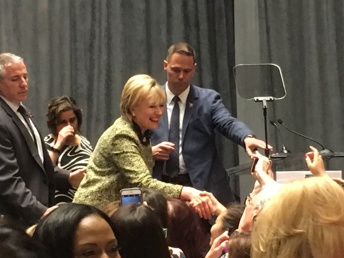 Nothing In Politics Is Permanent Hillary Clinton Tells
