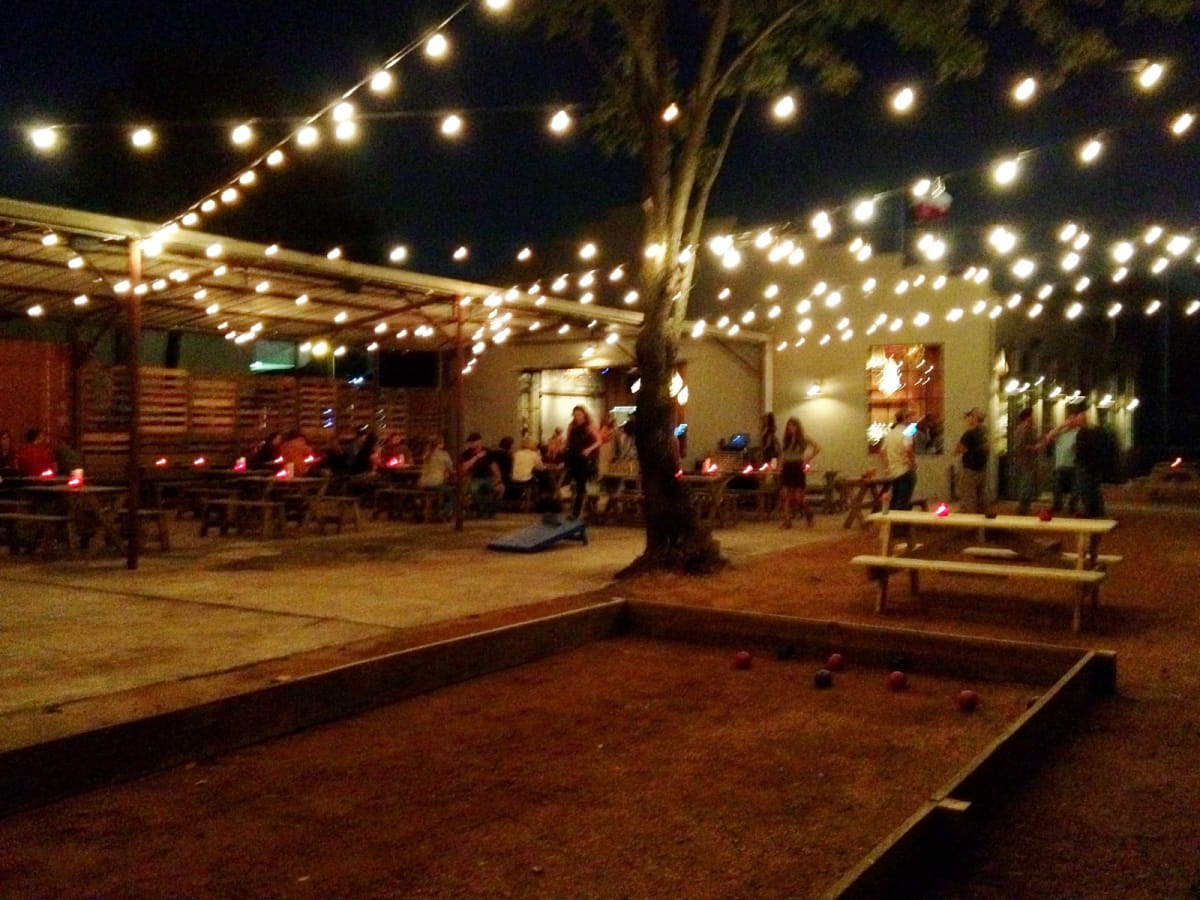 Garden Oaks Gets An Austin Vibe With Bocce Beer Amp Live