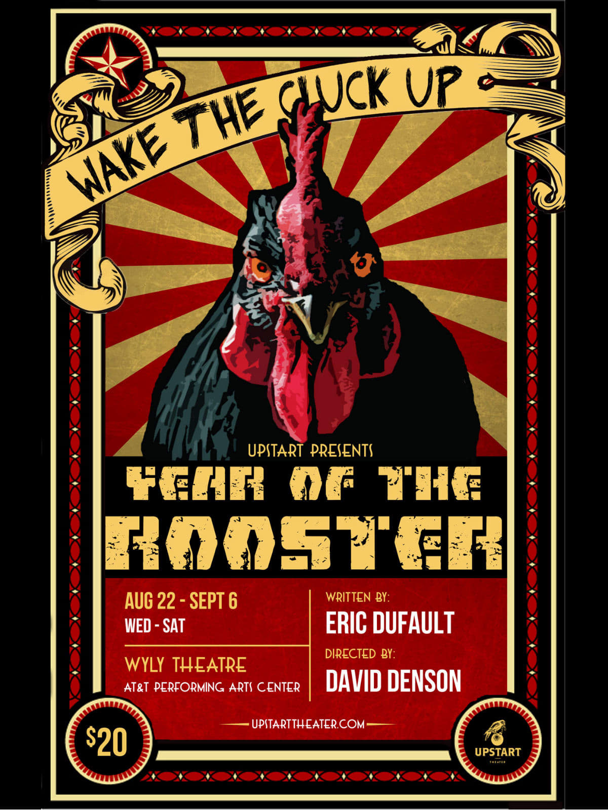 Upstart Productions Presents Year Of The Rooster Event