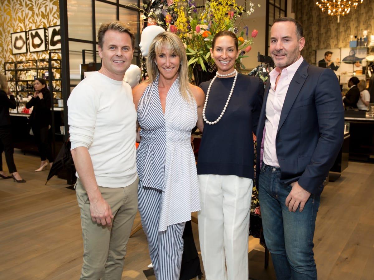 Q Style Hair Salon San Antonio: Houston Social Set Meet And Mingle With Luxe Sportswear