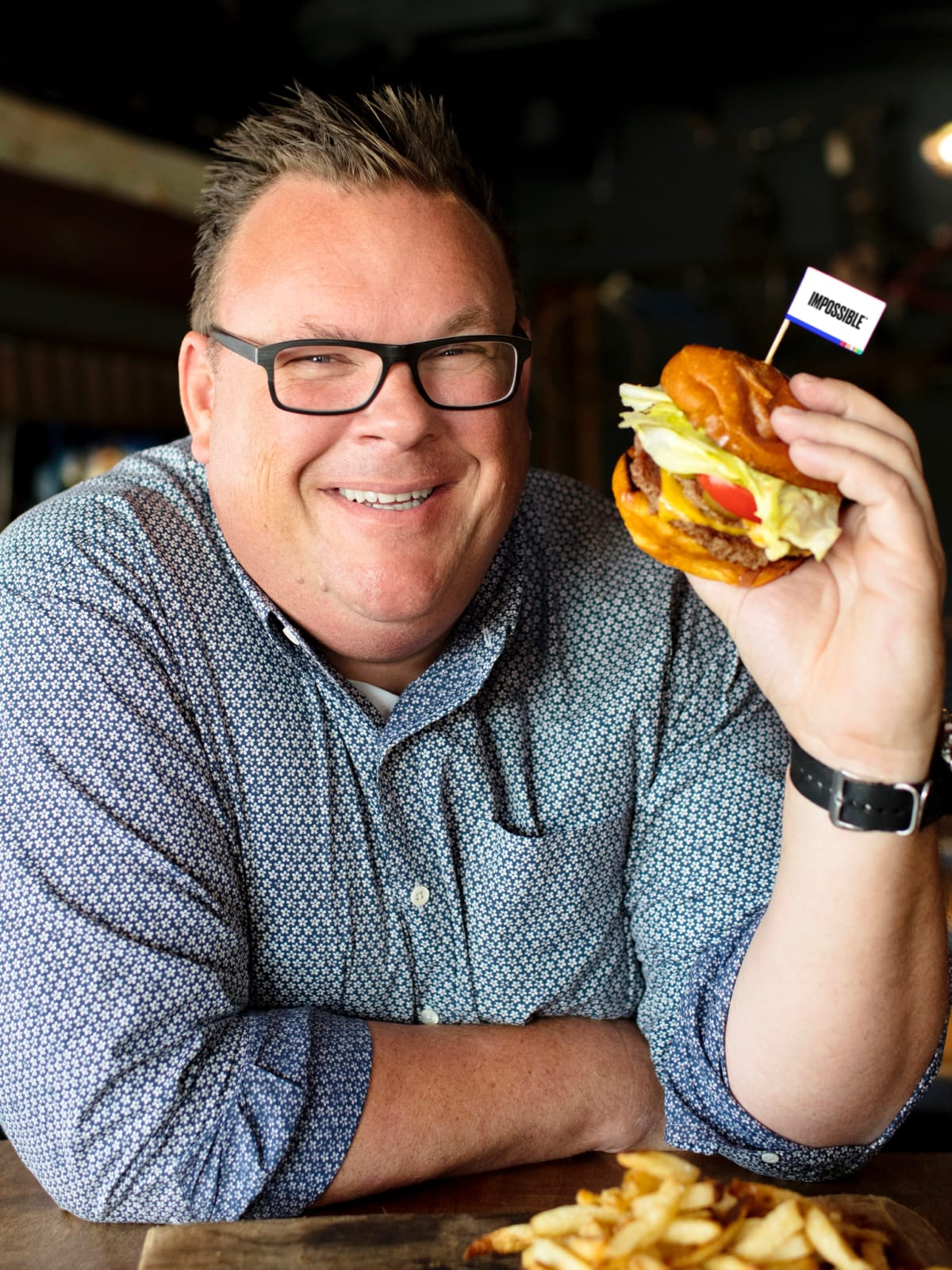 Impossible Veggie Burger With Meaty Taste Makes Its Texas
