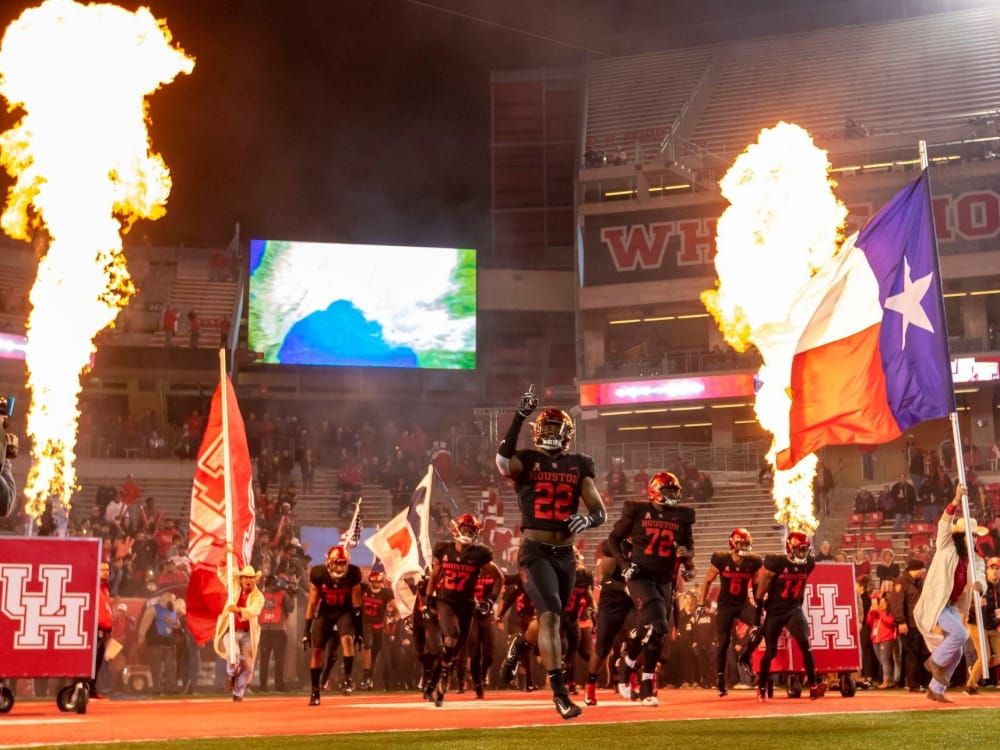 Houston has a shot for the AAC West division title. - SportsMap Houston