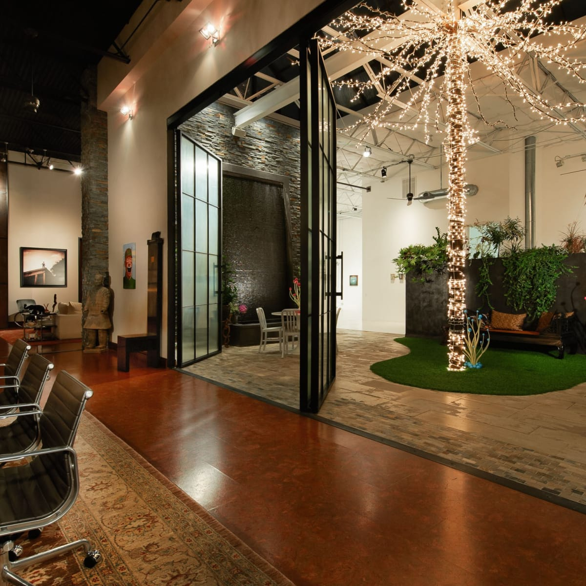 Luxury Residence By Dallas Design: Design District Warehouse Home Raises Roof For Million