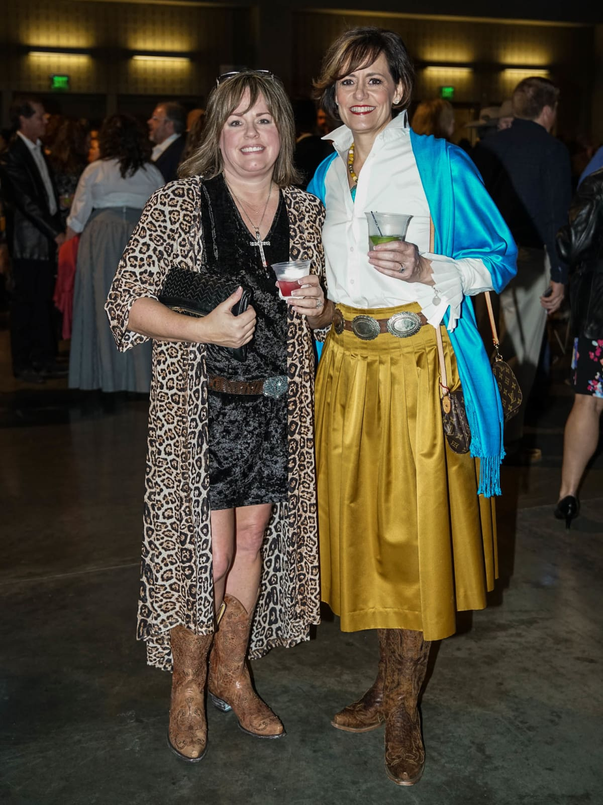 Rodeo Austin Guests Lasso Up Texas Chic Looks At 2018 Gala