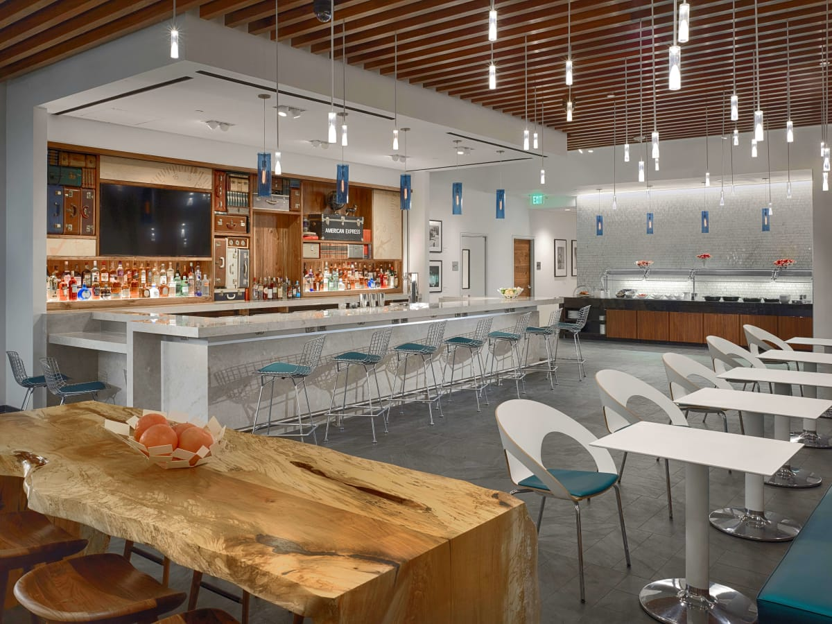 Image result for centurion lounge iah