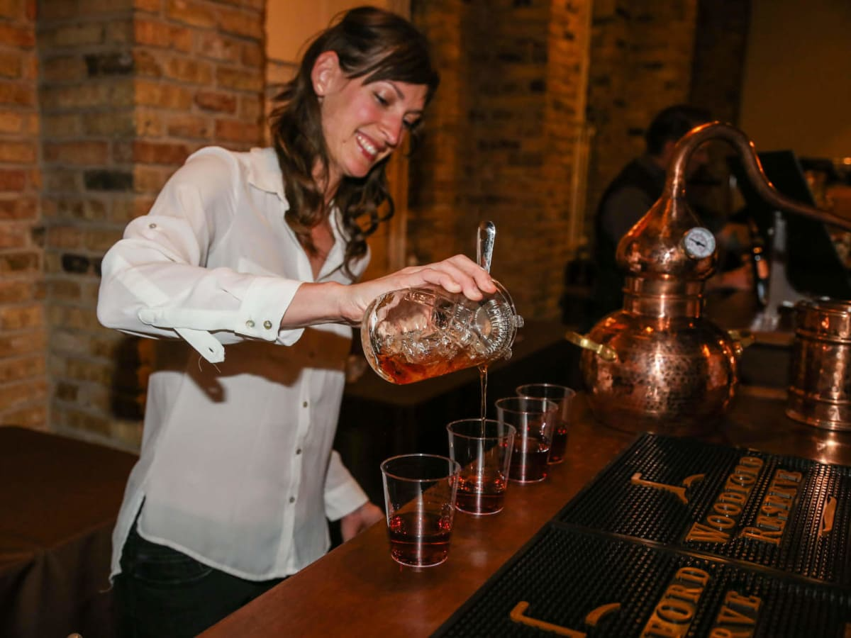 Local Bourbon Lovers Mingle With Best In The Business At