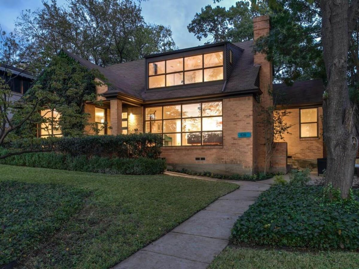 proximity to white rock lake is just one perk of updated dallas home