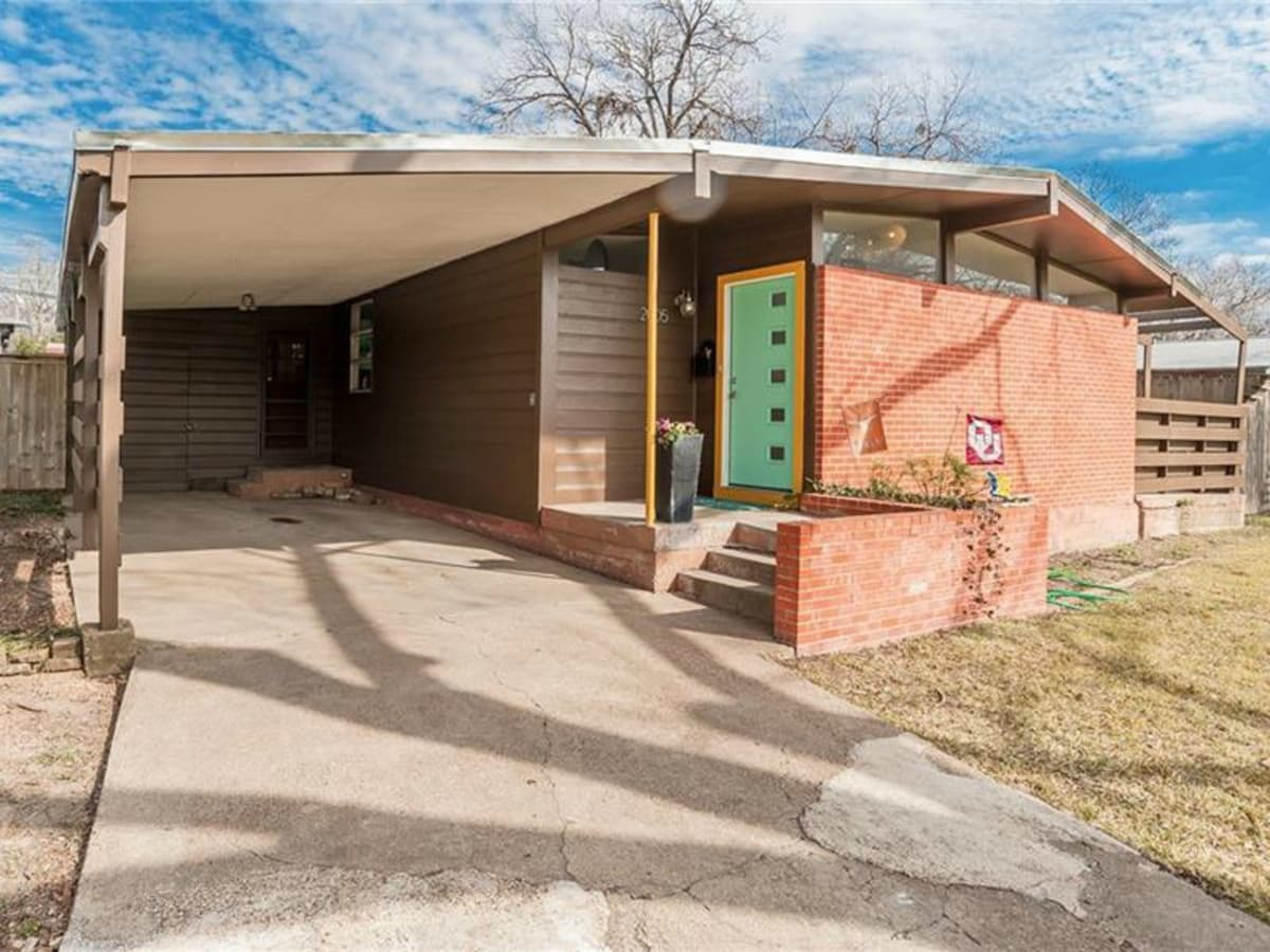 mod midcentury home comes in under 250 000 close to white rock lake