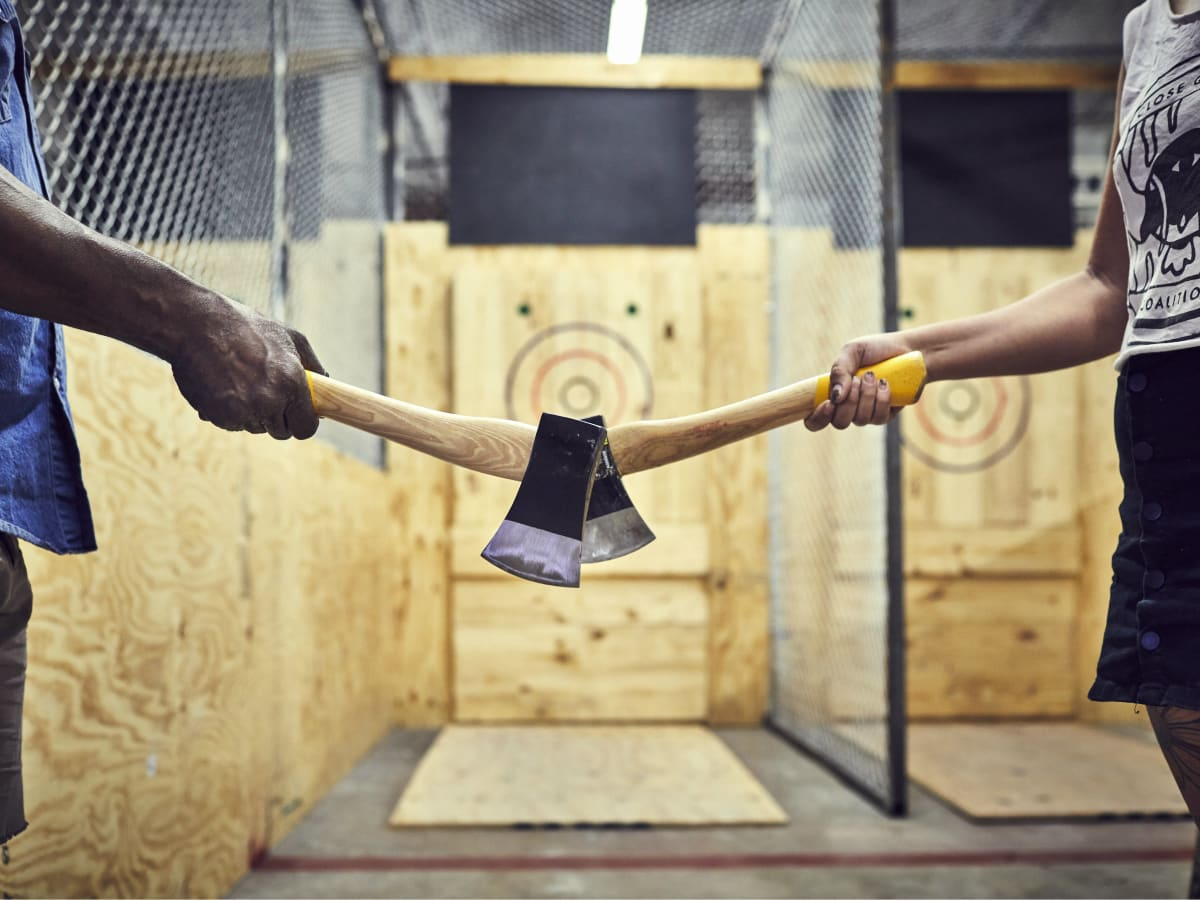 East Austin S Highly Anticipated Ax Throwing Venue Sets