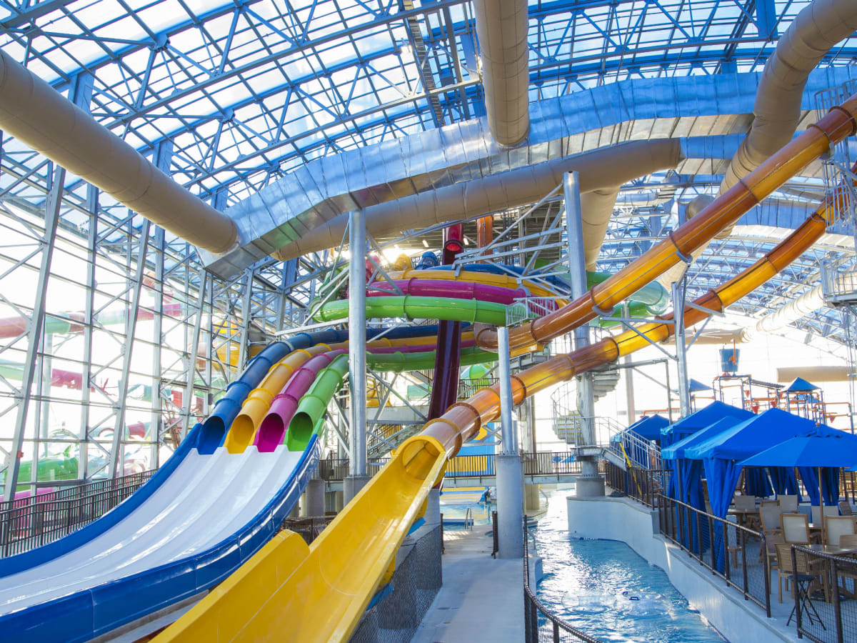 Epic New Dallas Fort Worth Water Park Opens With Splashy