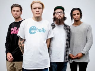 neck deep in concert with speak low if you speak love and creeper