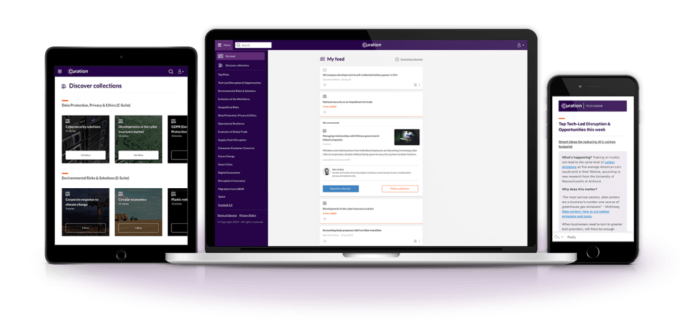 The curation platform