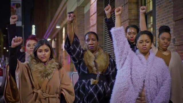 Thumbnail of cinematographer Liza Gipsova's documentary work on She's Revolutionary in New York City