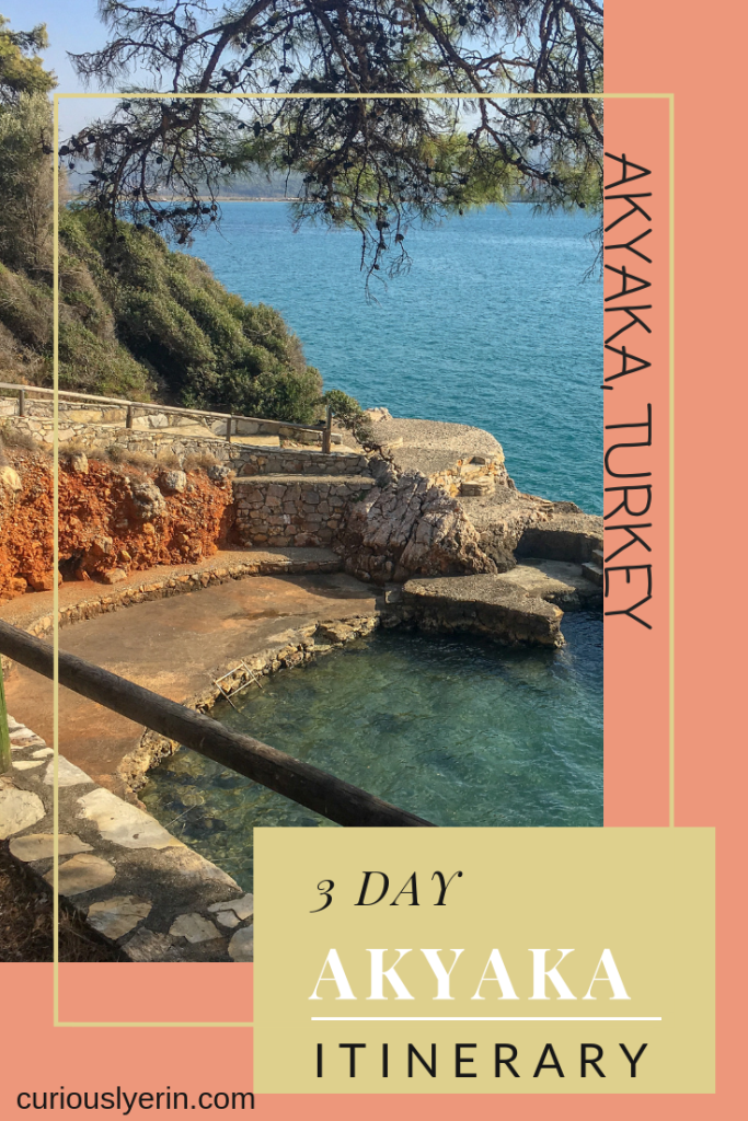 Akyaka: The Ultimate 3-Day Itinerary You Need Now. Useful tried and tested itinerary for your visit to the gorgeous 'slow' town of #Akyaka . Where to go, eat, stay, day trips, transport options and more. #Turkey #Travel