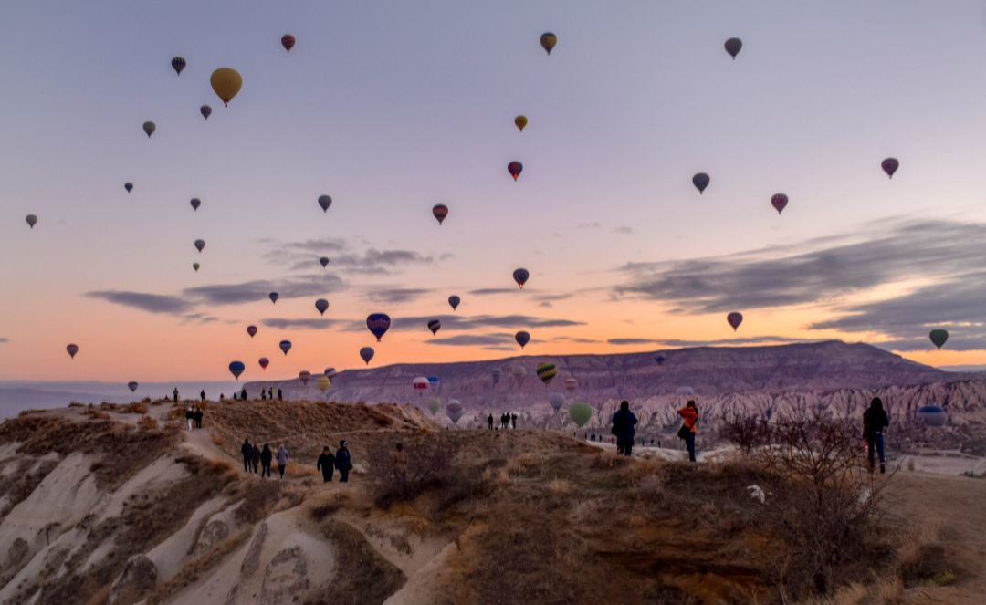 Liebster Award favourite travel post - Göreme Cappadocia Hot Air Balloons