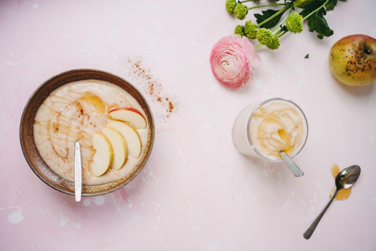 Jogurt z okusom pečeno jabolko.
