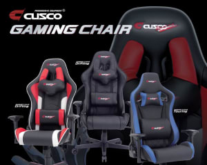 CUSCO Gaming Chair - Now in stock and ready to ship!