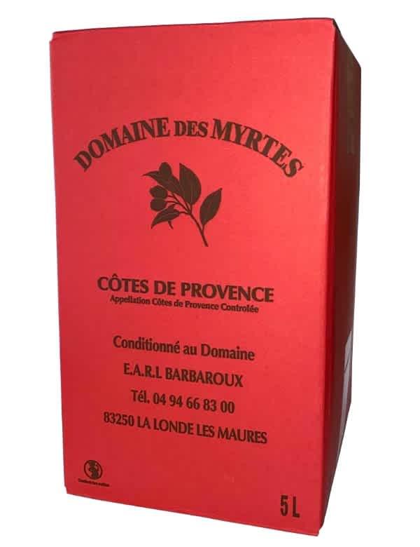 Bag-in-Box Domaine des Myrtes