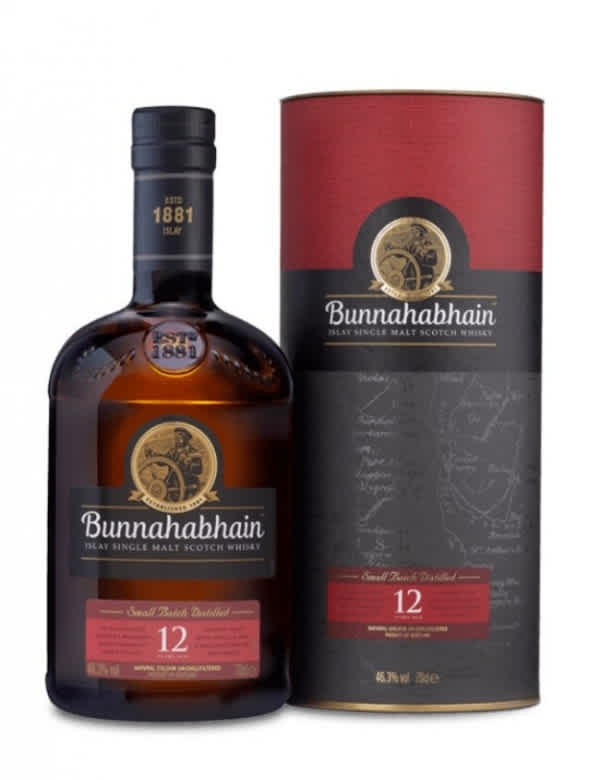 Bunnahabhain 12 ans Ecosse   Islay Single Malt 46,3°