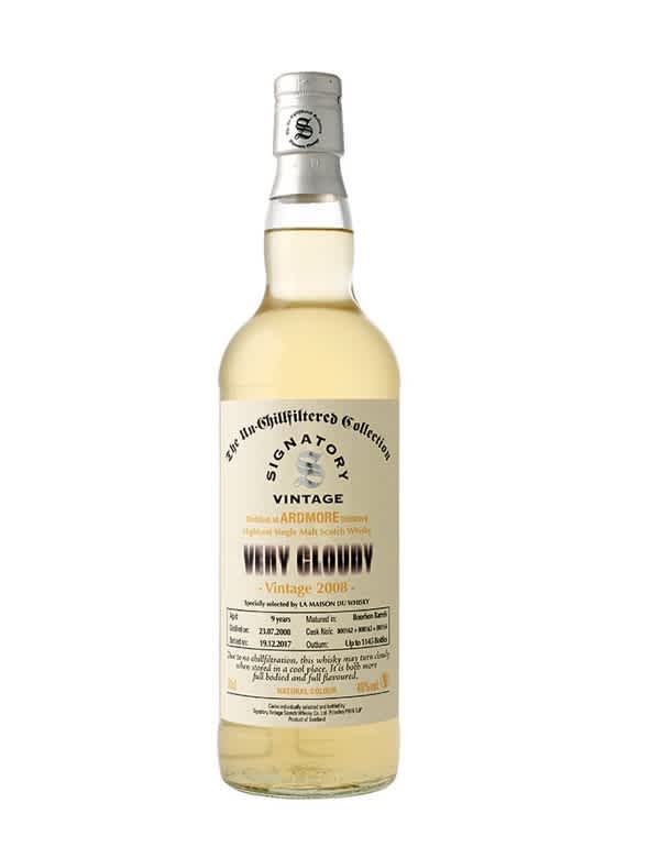 Ardmore Very Cloudy Ecosse   Speyside Single Malt 40°
