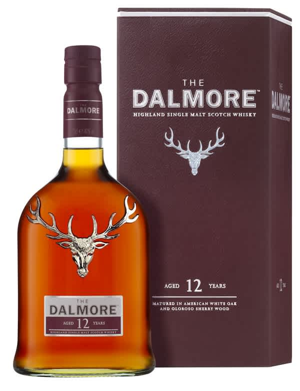 Dalmore 12 ans Ecosse   Highlands Single Malt 40°