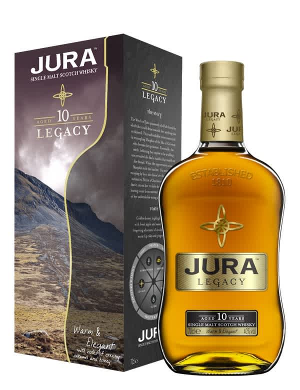 Jura 10 ans Ecosse   Jura Single Malt 40°