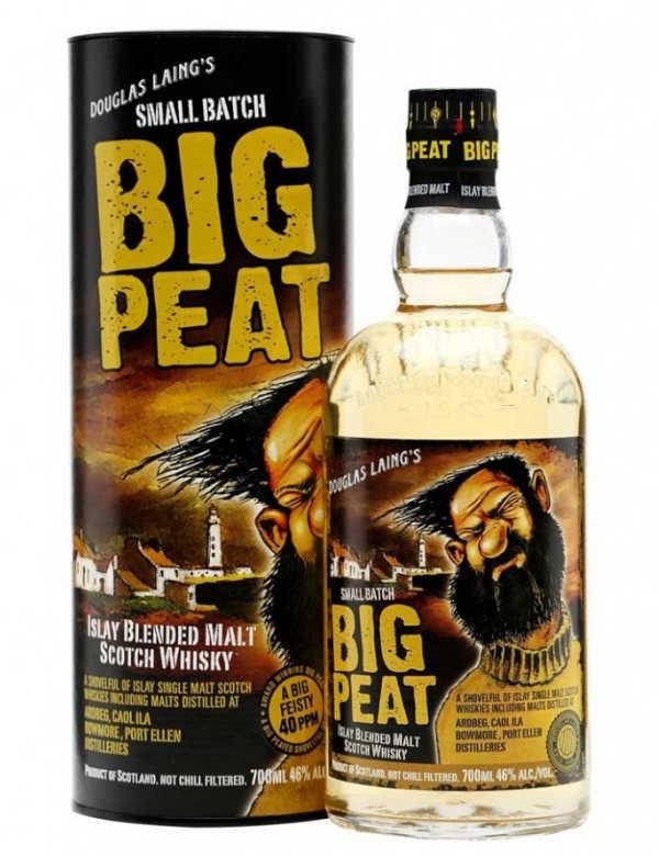 Big Peat D. Laing Ecosse   Isaly Blended Malt 46°