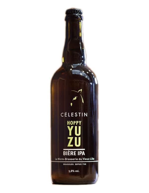Bière Hoppy Yuzu IPA de Celestin